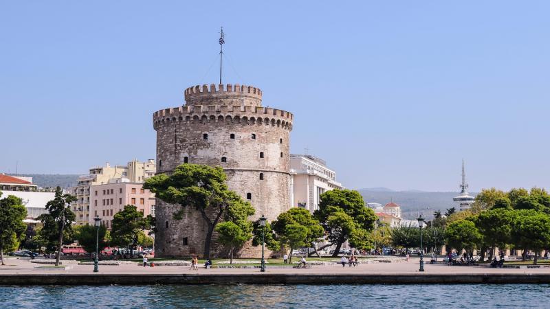 Димитровден в Солун, Гърция