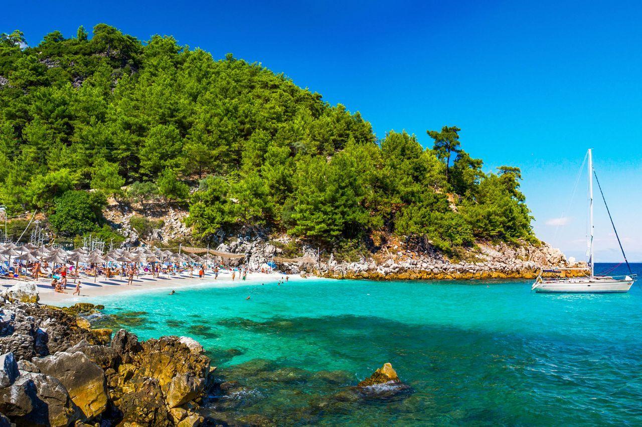 Зеленият остров Тасос