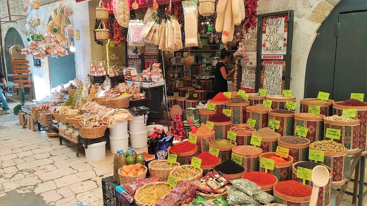 На пазар в Одрин